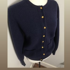 Vintage Smith and McGregor lambswool cardigan